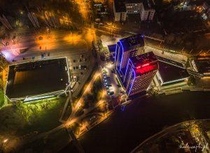 river tower bydgoszcz