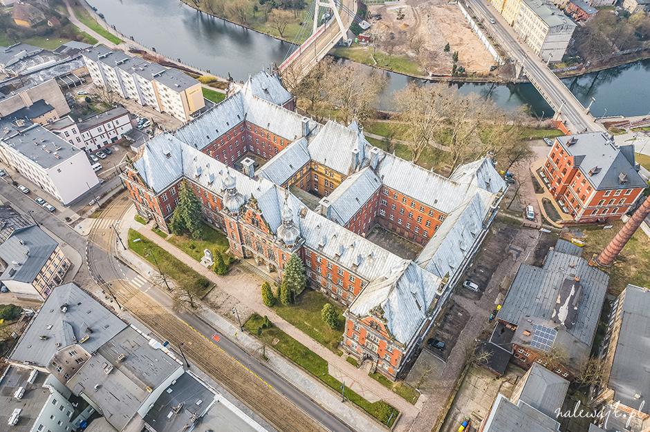 zdjęcia nieruchomości dron