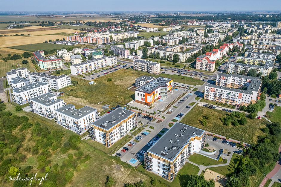 Osiedle Rąbin w Inowrocławiu | Fotografie z drona | Zdjęcia nieruchomości